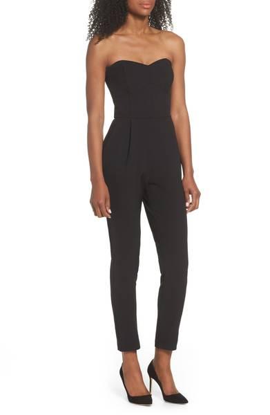 Nordstrom Black jumpsuit