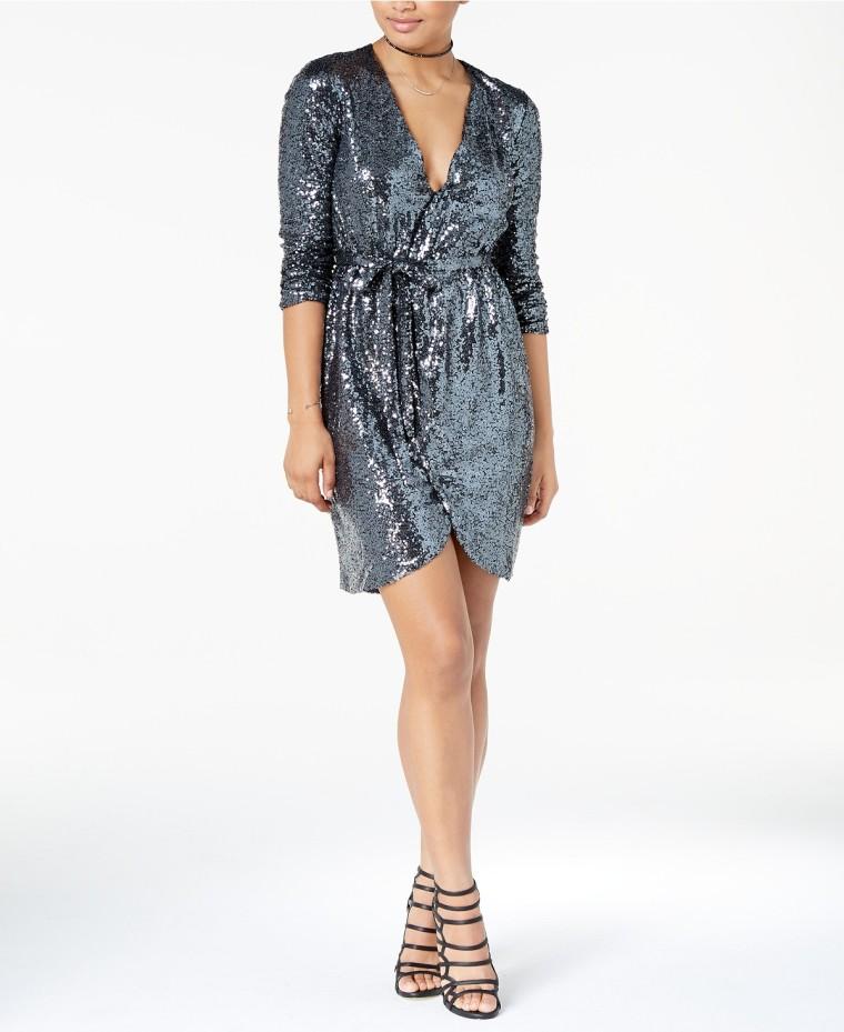 Silver Macy's Dress